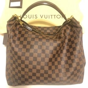 Louis Vuitton Damier Hobo Handbag